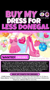 donate a dress